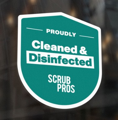 Office Cleaning Sticker